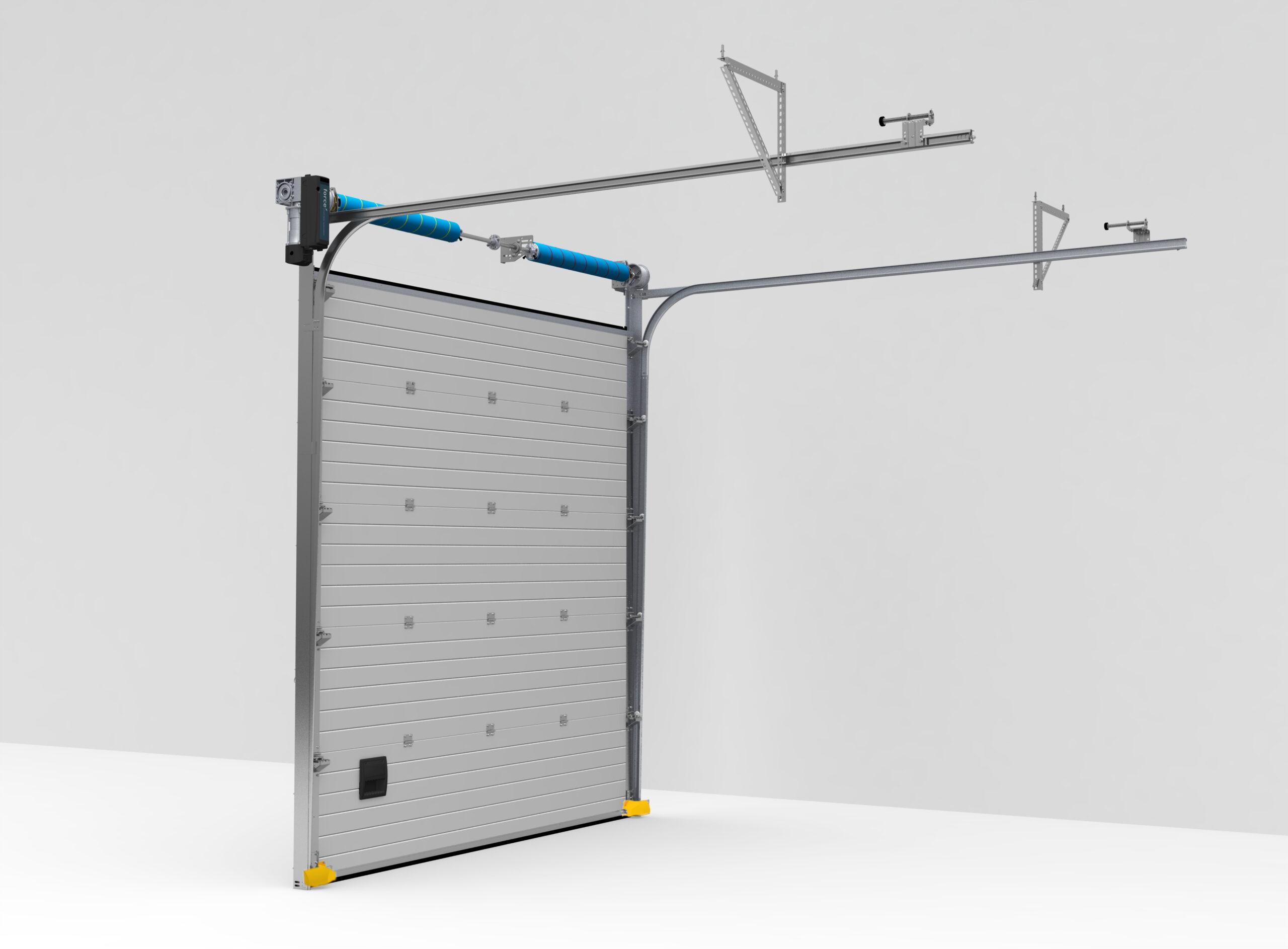 Seksiyonel Endüstriyel Kapı Standart - Normal Yataklama