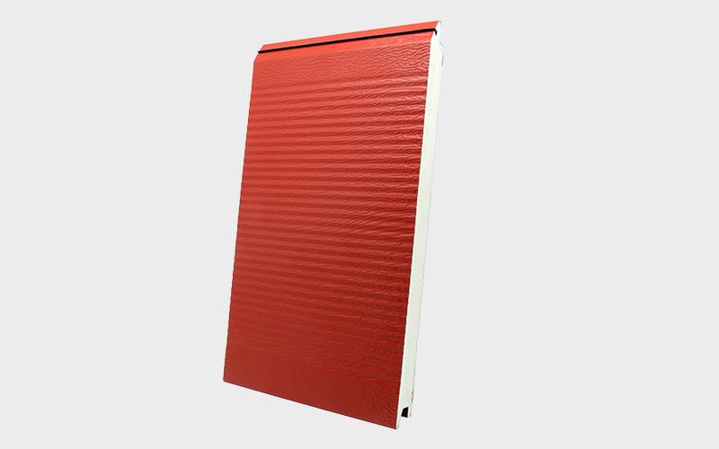 Sık Oluklu Kırmızı Ral 3000 Sandviç Panel
