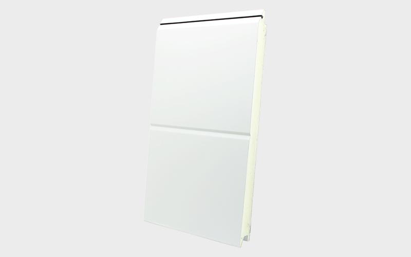 wrinkle orta oluklu beyaz ral 9016 sandviç panel