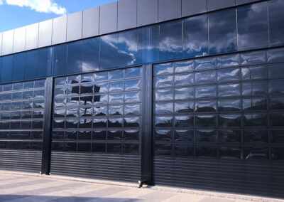 full vision endüstriyel kapı